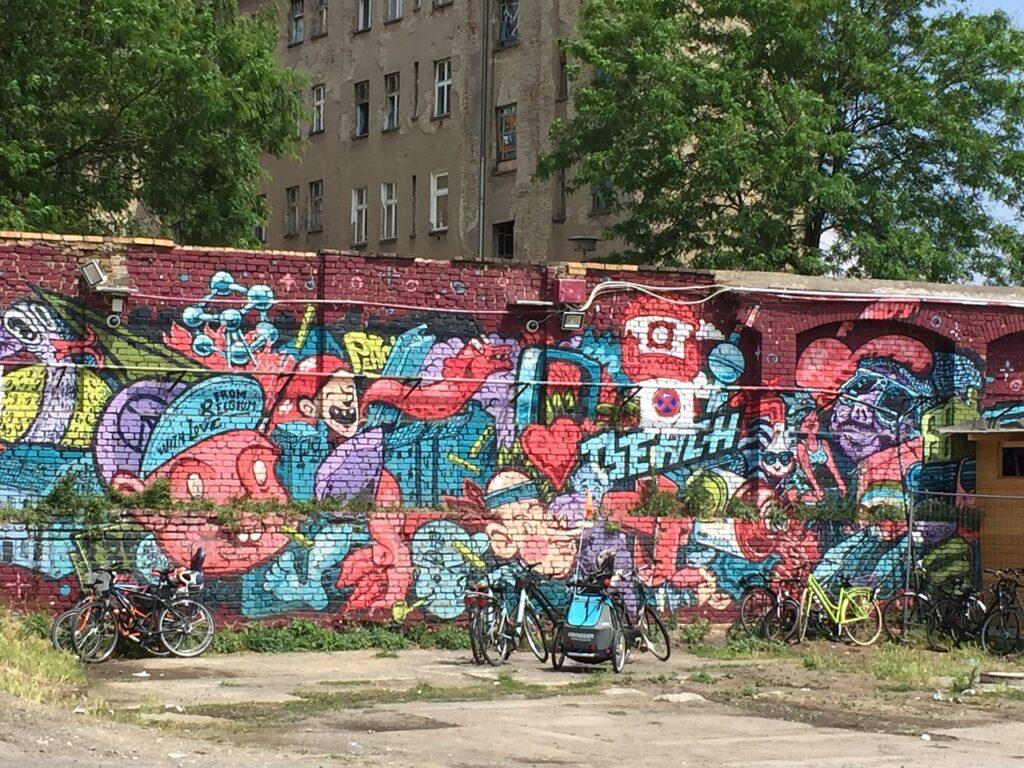 Significado de soñar con graffitis