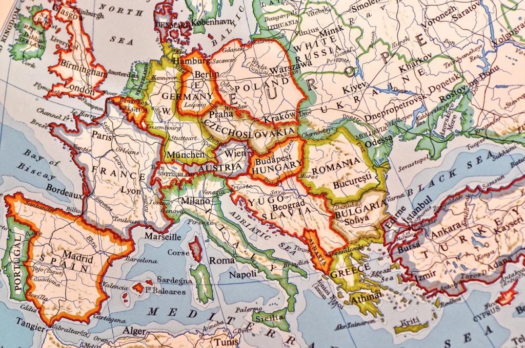 Significado de soñar con mapas